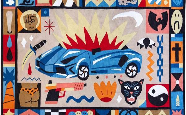 罗马尼亚艺术家 Saddo 的彩色绘画和大型艺术品