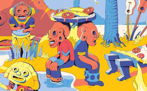 自由插画师 Lena Vargas 的一些精美插画作品精选