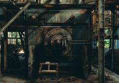 荒凉废弃的木材工厂:Bo wen HUANG 摄影作品
