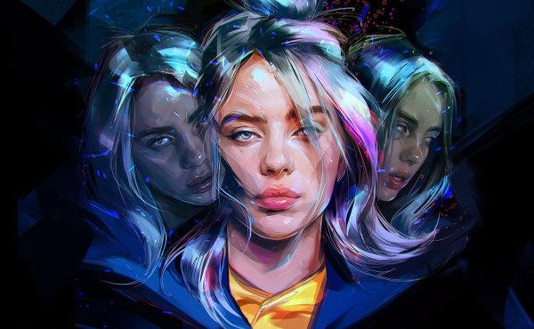 艺术家 Viktor Miller-Gausa 的彩色肖像画作品集