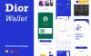 用于金融|银行|财务的手机电子钱包APP UI套件 60个UI设计