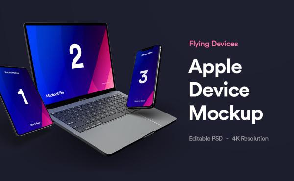 苹果设备样机:iPhone 11 Pro | Macbook Pro | iPad Pro