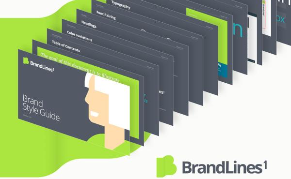 专业的品牌手册和风格指南模板 72个页面布局 含明暗模式
