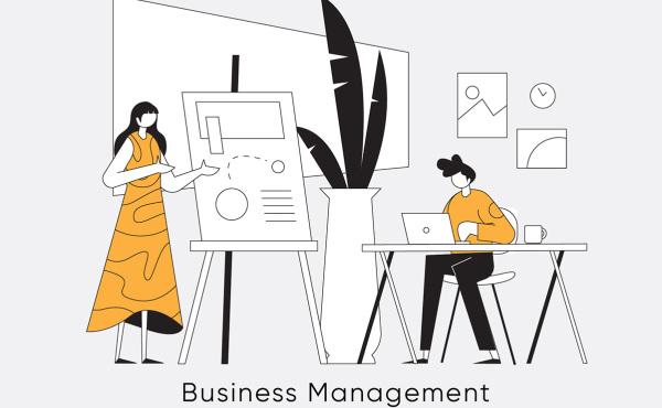 有关商业主题 人物业务场景 矢量插画素材 含10幅精美插画